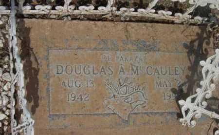 MCCAULEY, DOUGLAS ARTHUR - Yavapai County, Arizona | DOUGLAS ARTHUR MCCAULEY - Arizona Gravestone Photos