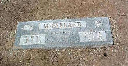 MCFARLAND, WILLIAM F. - Yavapai County, Arizona | WILLIAM F. MCFARLAND - Arizona Gravestone Photos