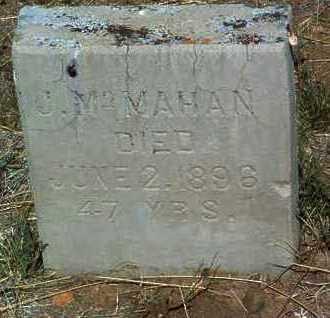 MCMAHAN, JOHN - Yavapai County, Arizona | JOHN MCMAHAN - Arizona Gravestone Photos