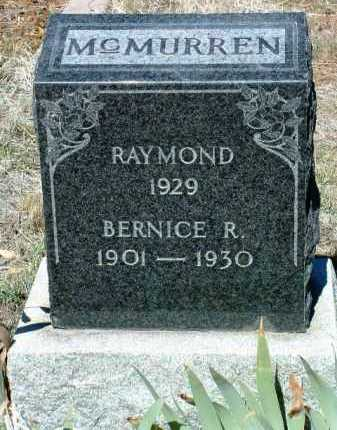 ANDERSON MCMURREN, B. - Yavapai County, Arizona | B. ANDERSON MCMURREN - Arizona Gravestone Photos