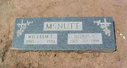 MCNUTT, DORIS R. - Yavapai County, Arizona | DORIS R. MCNUTT - Arizona Gravestone Photos