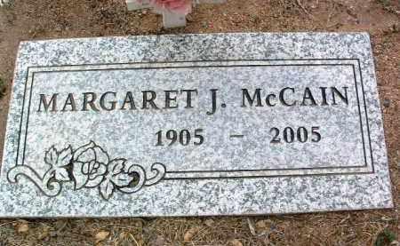 MCCAIN, MARGARET JULEY - Yavapai County, Arizona | MARGARET JULEY MCCAIN - Arizona Gravestone Photos