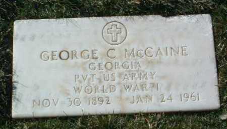 MCCAINE, GEORGE CLARKE - Yavapai County, Arizona | GEORGE CLARKE MCCAINE - Arizona Gravestone Photos