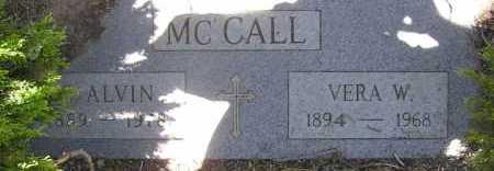 MCCALL, VERA W. - Yavapai County, Arizona | VERA W. MCCALL - Arizona Gravestone Photos