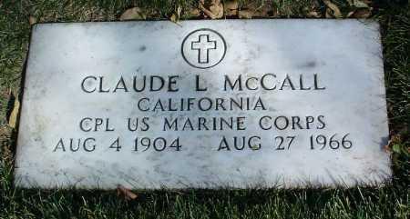 MCCALL, CLAUDE LEE - Yavapai County, Arizona | CLAUDE LEE MCCALL - Arizona Gravestone Photos