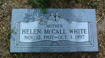 MCCALL WHITE, HELEN - Yavapai County, Arizona | HELEN MCCALL WHITE - Arizona Gravestone Photos