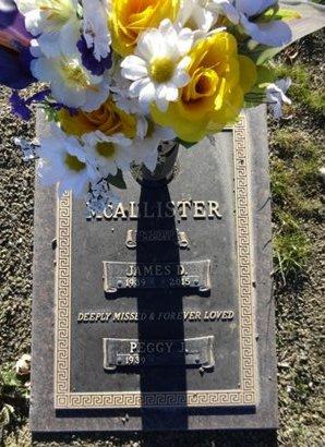 MCCALLISTER, PEGGY J. - Yavapai County, Arizona | PEGGY J. MCCALLISTER - Arizona Gravestone Photos