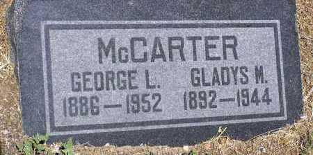 MCCARTER, GEORGE L. - Yavapai County, Arizona | GEORGE L. MCCARTER - Arizona Gravestone Photos