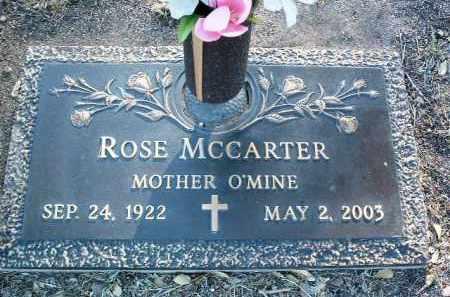 MCCARTER, ROSE MARY - Yavapai County, Arizona | ROSE MARY MCCARTER - Arizona Gravestone Photos