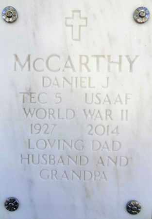 MCCARTHY, DANIEL JAMES - Yavapai County, Arizona   DANIEL JAMES MCCARTHY - Arizona Gravestone Photos