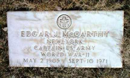 MCCARTHY, EDGAR J. - Yavapai County, Arizona | EDGAR J. MCCARTHY - Arizona Gravestone Photos