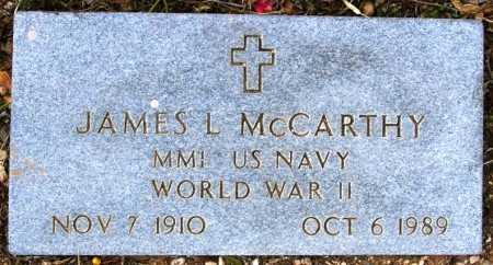 MCCARTHY, JAMES L. - Yavapai County, Arizona | JAMES L. MCCARTHY - Arizona Gravestone Photos