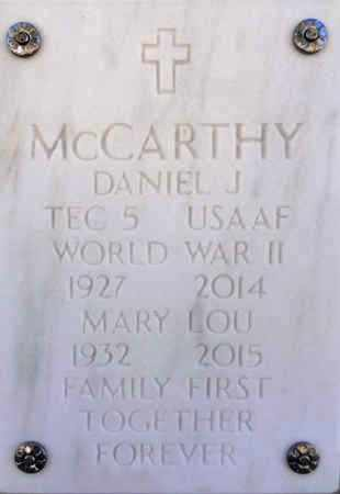 MCCARTHY, MARY LOU - Yavapai County, Arizona | MARY LOU MCCARTHY - Arizona Gravestone Photos
