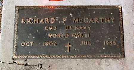 MCCARTHY, RICHARD PETER - Yavapai County, Arizona | RICHARD PETER MCCARTHY - Arizona Gravestone Photos