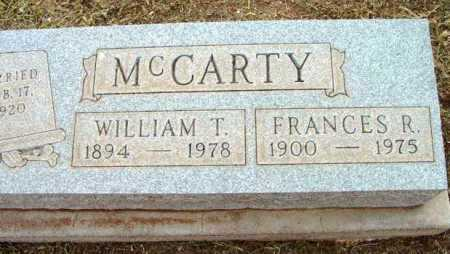 MCCARTY, WILLIAM TAYLOR - Yavapai County, Arizona | WILLIAM TAYLOR MCCARTY - Arizona Gravestone Photos