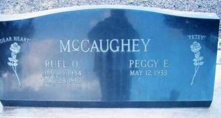 MCCAUGHEY, RUEL O. - Yavapai County, Arizona | RUEL O. MCCAUGHEY - Arizona Gravestone Photos