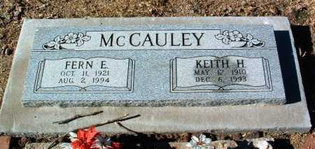 MCCAULEY, FERN E. - Yavapai County, Arizona | FERN E. MCCAULEY - Arizona Gravestone Photos