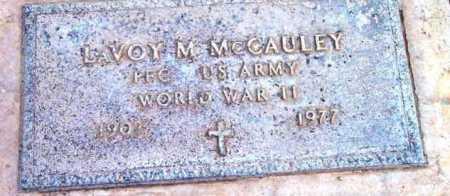 MCCAULEY, LAVOY MARSHALL - Yavapai County, Arizona | LAVOY MARSHALL MCCAULEY - Arizona Gravestone Photos