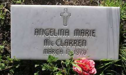 MCCLARREN, ANGELINA M. - Yavapai County, Arizona   ANGELINA M. MCCLARREN - Arizona Gravestone Photos