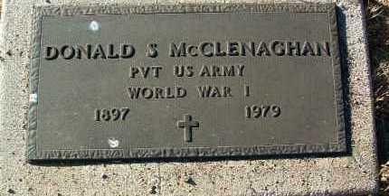 MCCLENAGHAN, DONALD S. - Yavapai County, Arizona | DONALD S. MCCLENAGHAN - Arizona Gravestone Photos