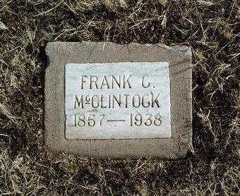 MCCLINTOCK, FRANK C. - Yavapai County, Arizona | FRANK C. MCCLINTOCK - Arizona Gravestone Photos