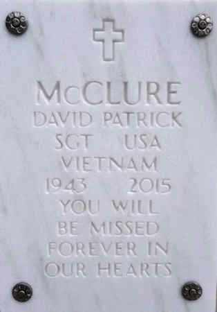 MCCLURE, DAVID PATRICK - Yavapai County, Arizona | DAVID PATRICK MCCLURE - Arizona Gravestone Photos