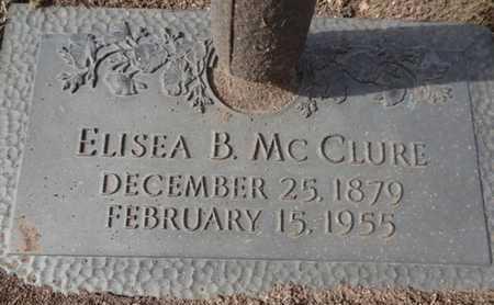 BACA MCCLURE, ELISEA - Yavapai County, Arizona | ELISEA BACA MCCLURE - Arizona Gravestone Photos