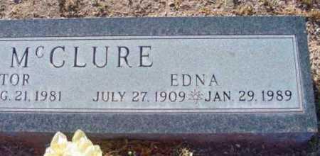 MCCLURE, EDNA - Yavapai County, Arizona | EDNA MCCLURE - Arizona Gravestone Photos