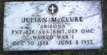 MCCLURE, JULIAN - Yavapai County, Arizona | JULIAN MCCLURE - Arizona Gravestone Photos