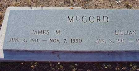 MCCORD, JAMES M. - Yavapai County, Arizona | JAMES M. MCCORD - Arizona Gravestone Photos