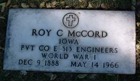 MCCORD, ROY C. - Yavapai County, Arizona | ROY C. MCCORD - Arizona Gravestone Photos