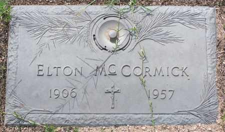 MCCORMICK, ELTON - Yavapai County, Arizona | ELTON MCCORMICK - Arizona Gravestone Photos