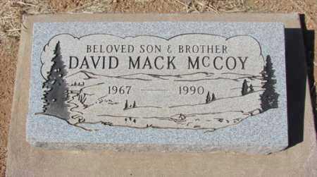MCCOY, DAVID MACK - Yavapai County, Arizona | DAVID MACK MCCOY - Arizona Gravestone Photos