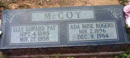 MCCOY, ELLY EDWARD (PAT) - Yavapai County, Arizona | ELLY EDWARD (PAT) MCCOY - Arizona Gravestone Photos