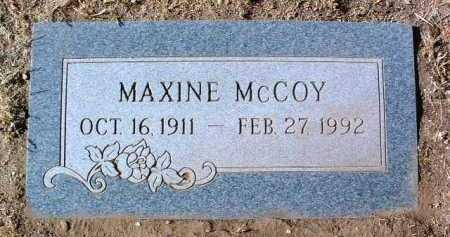 MCCOY, IRMA MAXINE - Yavapai County, Arizona | IRMA MAXINE MCCOY - Arizona Gravestone Photos