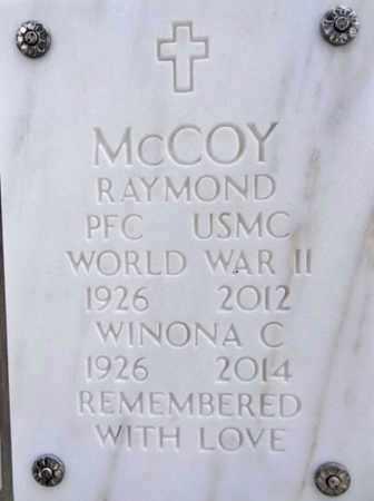 MCCOY, WINONA CLYDE - Yavapai County, Arizona | WINONA CLYDE MCCOY - Arizona Gravestone Photos