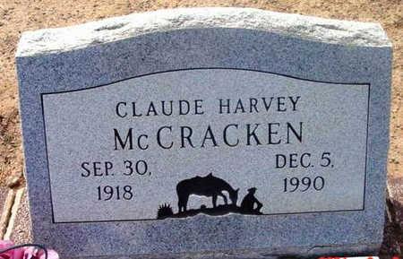 MCCRACKEN, CLAUDE HARVEY - Yavapai County, Arizona | CLAUDE HARVEY MCCRACKEN - Arizona Gravestone Photos