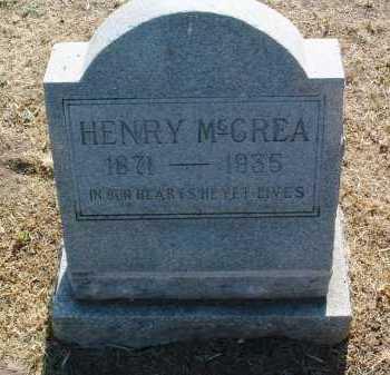 MCCREA, HENRY - Yavapai County, Arizona   HENRY MCCREA - Arizona Gravestone Photos