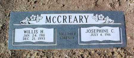 MCCREARY, JOSEPHINE C. - Yavapai County, Arizona   JOSEPHINE C. MCCREARY - Arizona Gravestone Photos