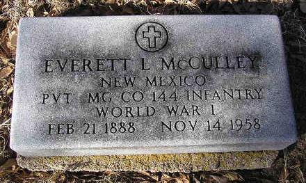 MCCULLEY, EVERETT LESTER - Yavapai County, Arizona | EVERETT LESTER MCCULLEY - Arizona Gravestone Photos