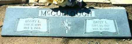 MONGER MCCULLOUGH, DAISY LEE ELNORA - Yavapai County, Arizona | DAISY LEE ELNORA MONGER MCCULLOUGH - Arizona Gravestone Photos