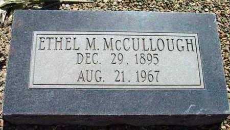 KENDALL MCCULLOUGH, ETHEL MAE - Yavapai County, Arizona | ETHEL MAE KENDALL MCCULLOUGH - Arizona Gravestone Photos