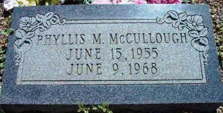 MCCULLOUGH, PHYLLIS M. - Yavapai County, Arizona   PHYLLIS M. MCCULLOUGH - Arizona Gravestone Photos