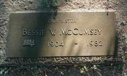MCCUMSEY, BESSIE VENA - Yavapai County, Arizona | BESSIE VENA MCCUMSEY - Arizona Gravestone Photos