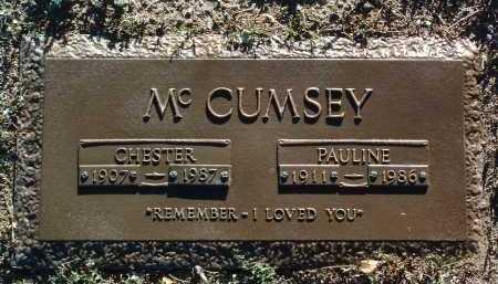 MCCUMSEY, CHESTER OLIVER - Yavapai County, Arizona | CHESTER OLIVER MCCUMSEY - Arizona Gravestone Photos