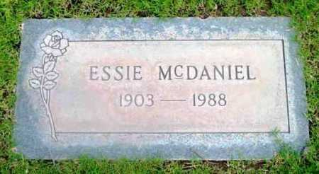 MCDANIEL, ESSIE - Yavapai County, Arizona | ESSIE MCDANIEL - Arizona Gravestone Photos
