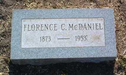 MCDANIEL, FLORENCE CORA - Yavapai County, Arizona   FLORENCE CORA MCDANIEL - Arizona Gravestone Photos