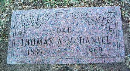 MCDANIEL, THOMAS A. - Yavapai County, Arizona | THOMAS A. MCDANIEL - Arizona Gravestone Photos