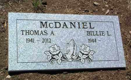 MCDANIEL, THOMAS A. - Yavapai County, Arizona   THOMAS A. MCDANIEL - Arizona Gravestone Photos