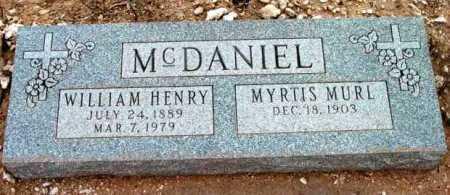 MCDANIEL, MYRTIS MURL - Yavapai County, Arizona | MYRTIS MURL MCDANIEL - Arizona Gravestone Photos
